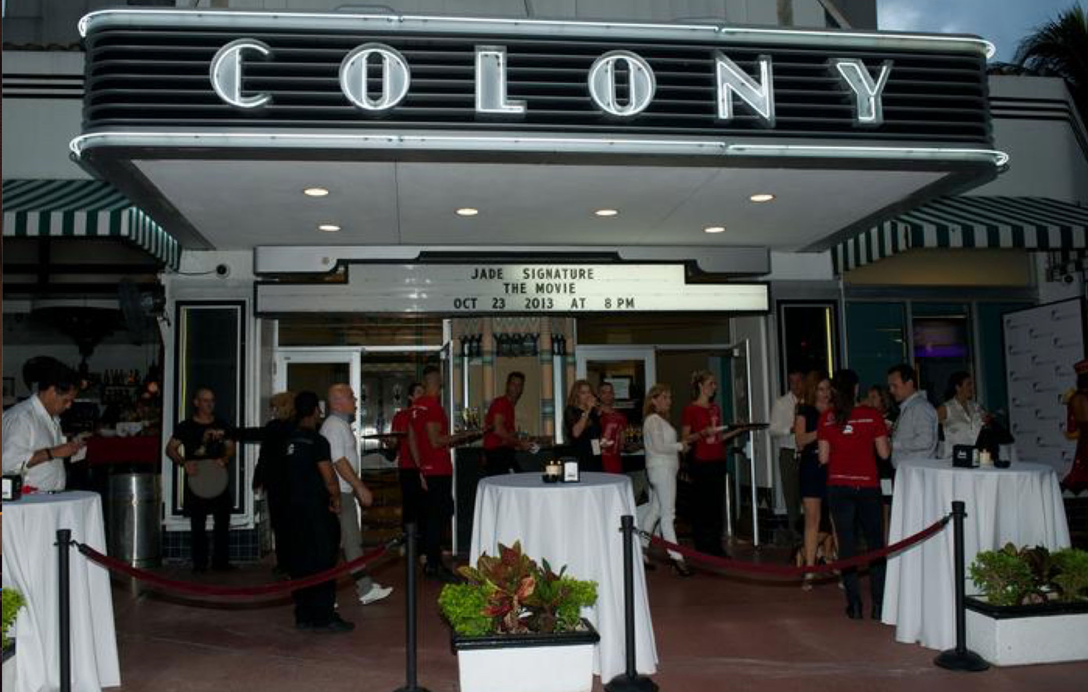Lincoln Road BID colony theater